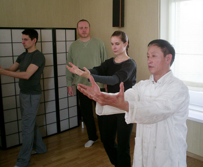Яо Чэнгуан и Сергей Орешкин